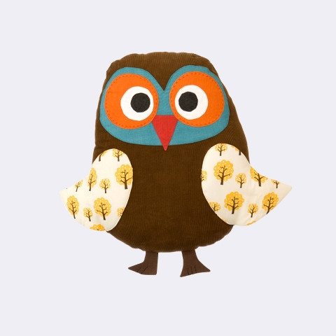 Owl cushion fra Ferm Living