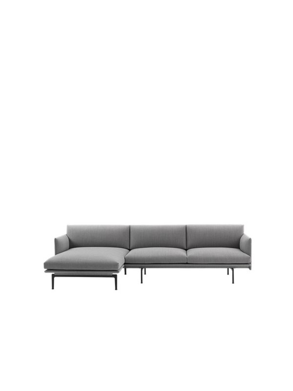 Outline sofa / Chaiselongue fra Muuto