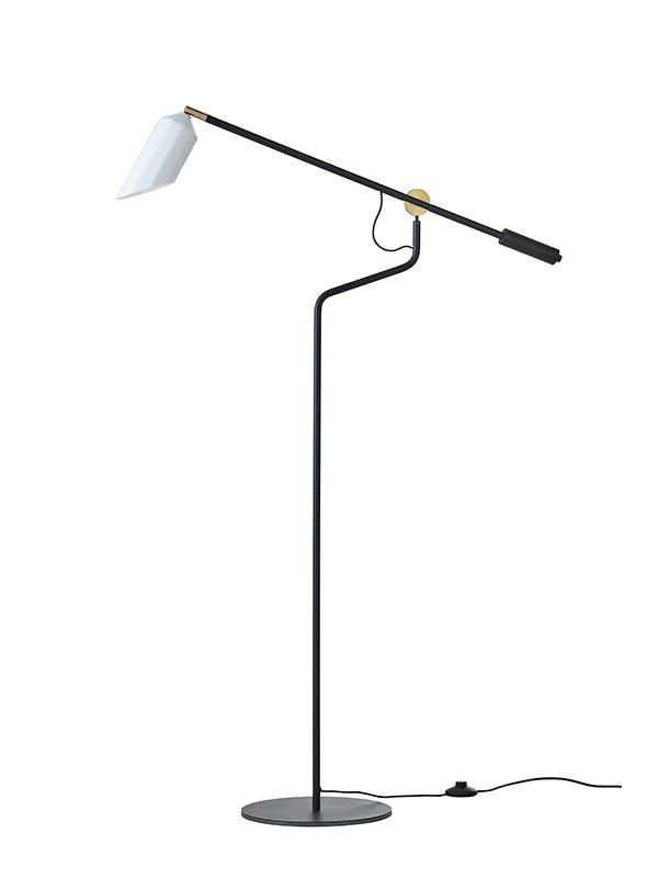 Pliverre gulvlampe fra Le Klint