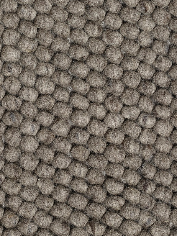 Peas tæppe, dark grey fra Hay