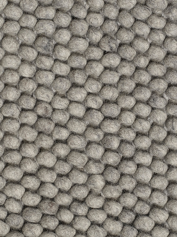 Peas tæppe, medium grey fra Hay