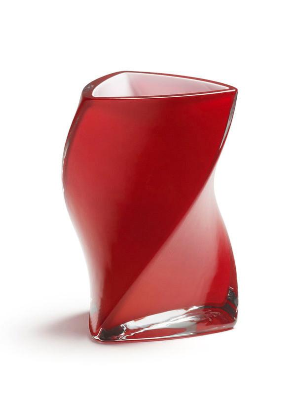 Twister vase fra Piet Hein (Rød)