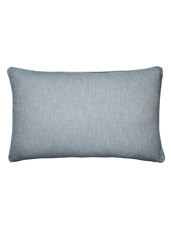 Pillow cover Striped, Indigo fra AIAYU