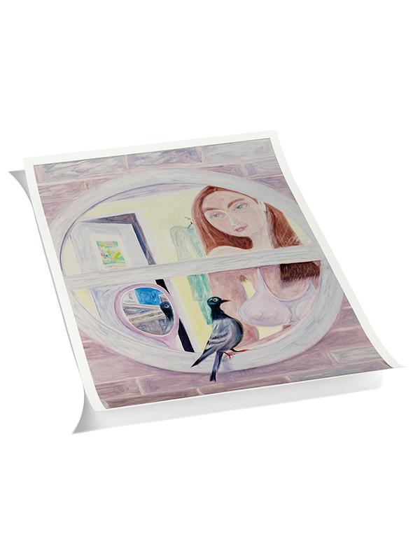 Plakat Charlie Roberts - 1 pink fra Hay