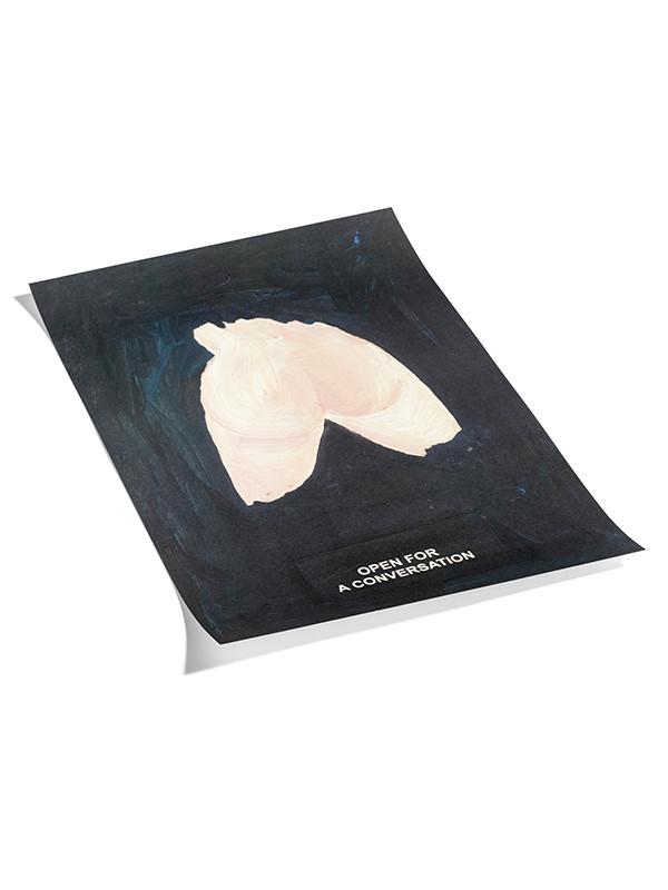 Plakat Laure Prouvost - 1 black fra Hay