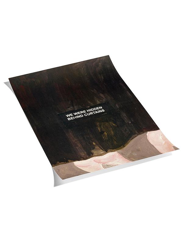 Plakat Laure Prouvost - 3 black fra Hay