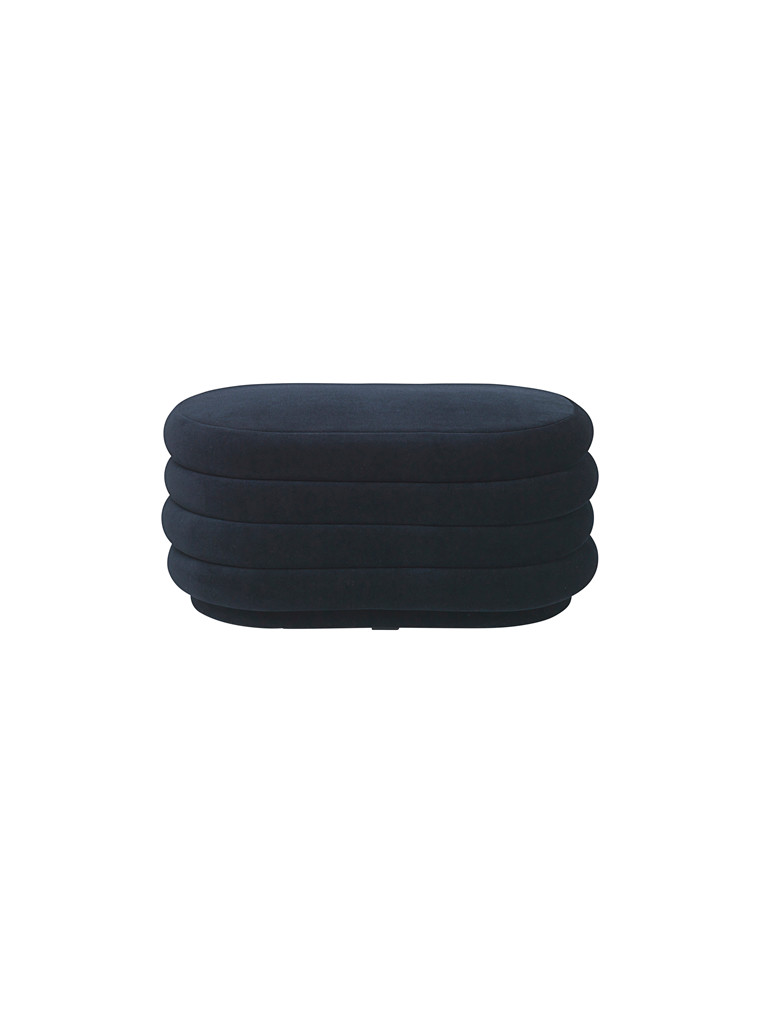 Pouf oval - medium fra Ferm Living