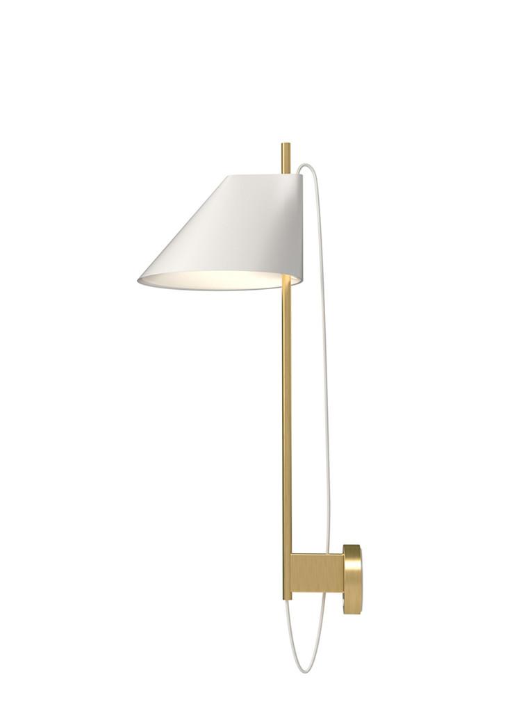 Yuh Brass væglampe fra Louis Poulsen