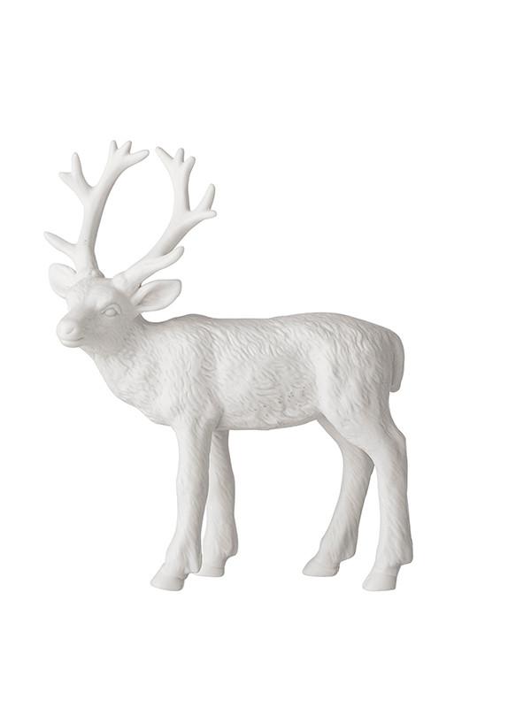 Porcelæns rensdyr fra Bloomingville