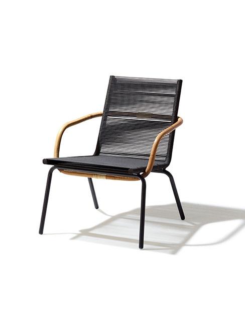 Sidd lounge stol fra Cane-line
