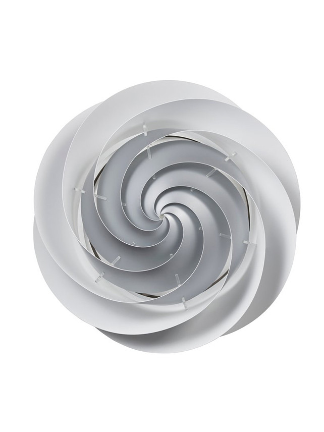 Swirl loft/væglampe (sølv) fra Le Klint