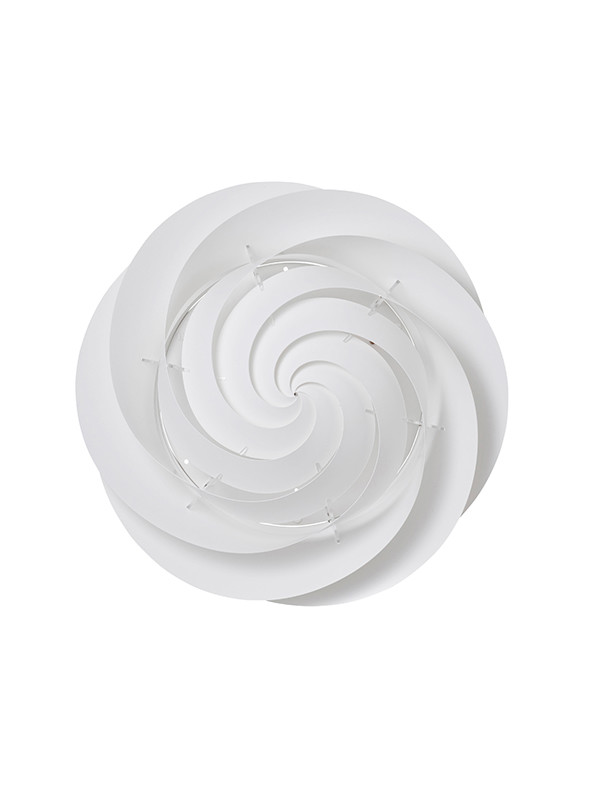Swirl loft/væglampe (hvid) fra Le Klint