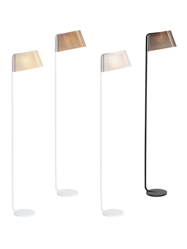 Owalo 7010 gulvlampe fra Secto Design