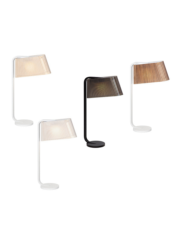 Owalo 7020 bordlampe fra Secto Design