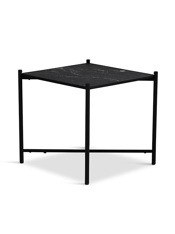 Sidebord, sort marmor fra HANDVÄRK