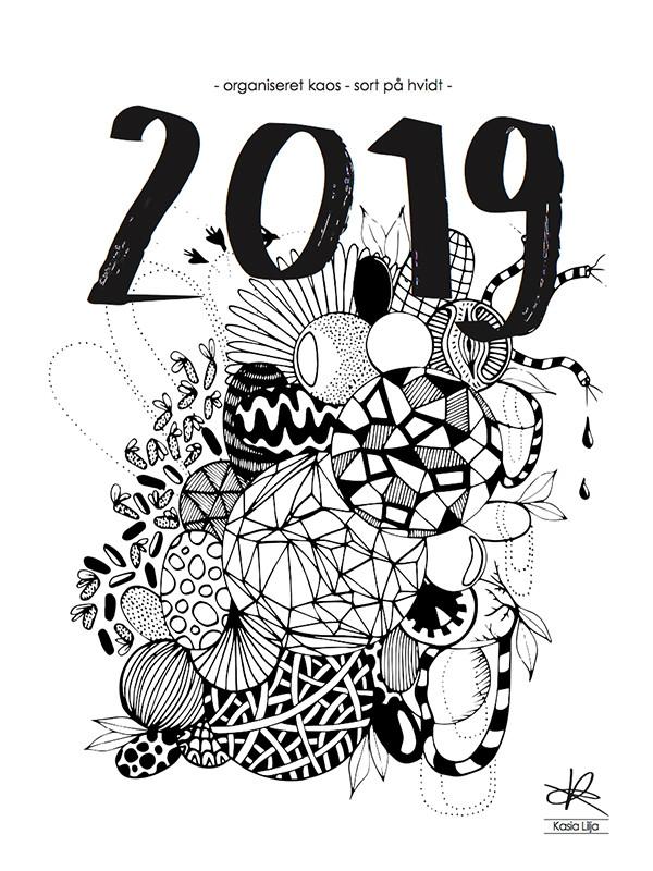 Kalender 2019 af Kasia Lilja