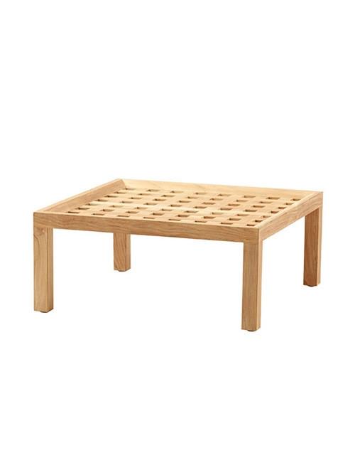 Square sofabord/fodskammel fra Cane-line