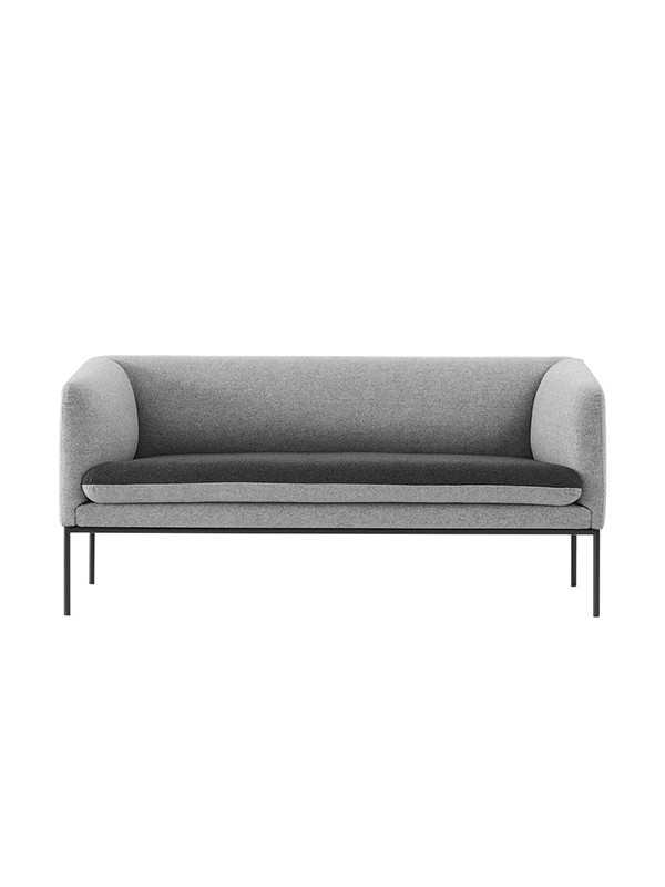 Turn sofa - cotton - 2 seater fra Ferm Living