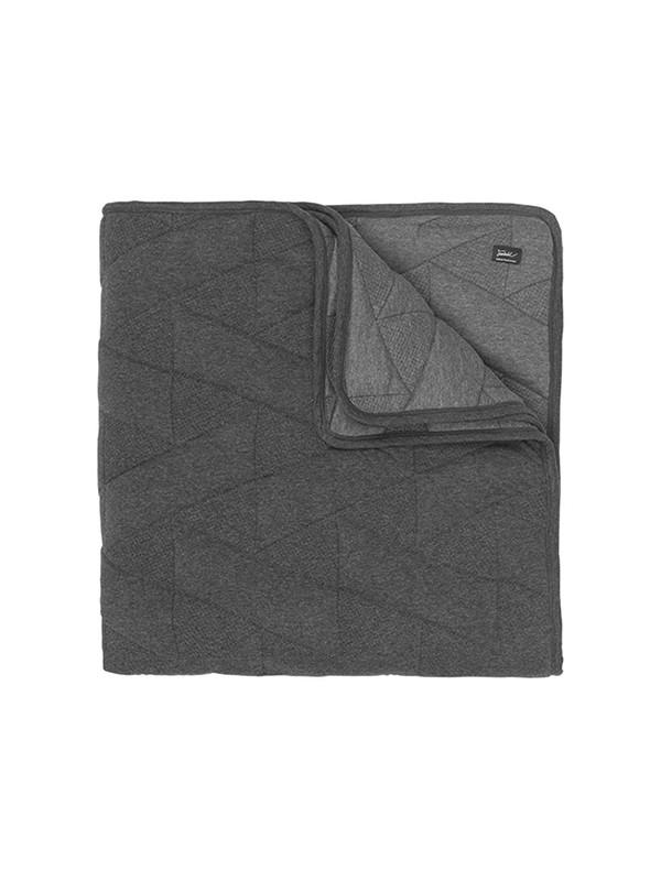 FJ Pattern sengetæppe i grå fra Architectmade