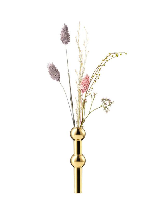 STOFF Nagel vase i messing af Werner Stoff