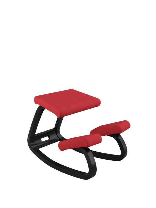 Variable balans stol fra Variér sort ask