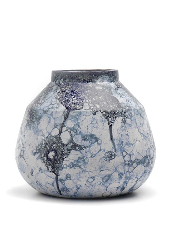 Bubblegraphy V2 vase fra Oddness