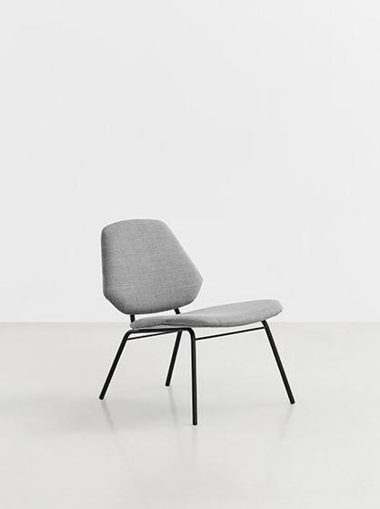 Lean lounge chair fra Woud