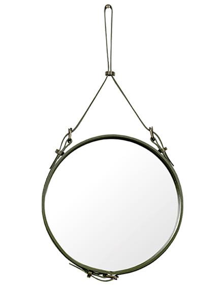 Adnet spejl fra Gubi