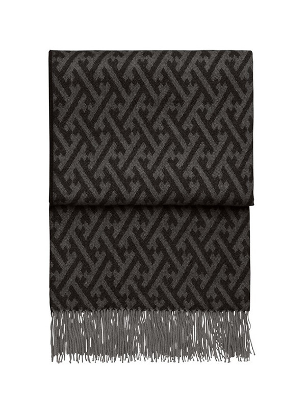 Amazing plaid, black/grey fra Elvang