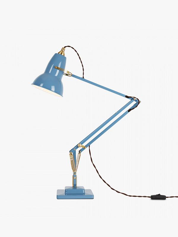 Original 1227 messing skrivebordslampe fra Anglepoise