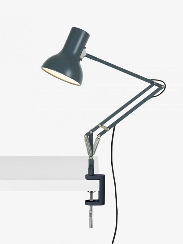 Type 75 Mini bordlampe m. klemme fra Anglepoise