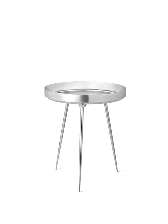 Bowl Table i aluminium fra Mater