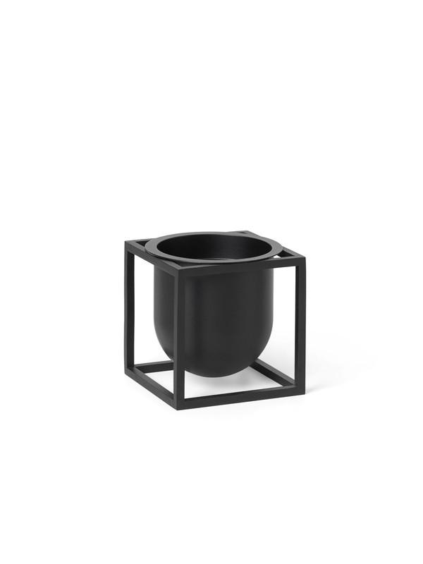 Kubus Flowerpot 10, sort fra By Lassen