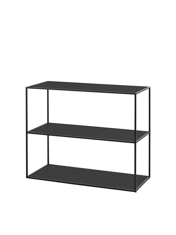 Twin bookcase, small fra By Lassen