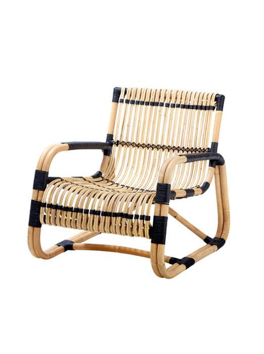 Curve lounge stol fra Cane-line