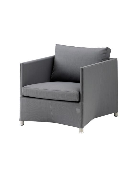 Diamond lounge stol inkl. hynde fra Cane-line