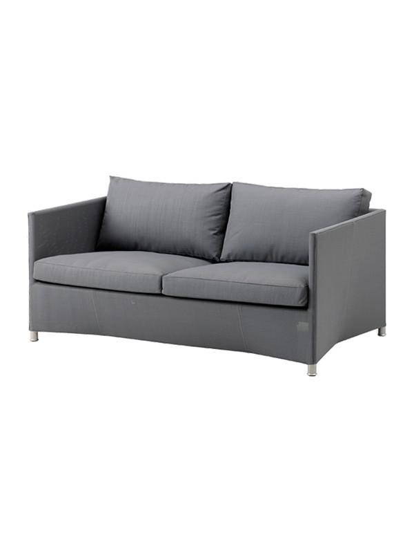 Diamond 2 pers sofa inkl. hynde fra Cane-line