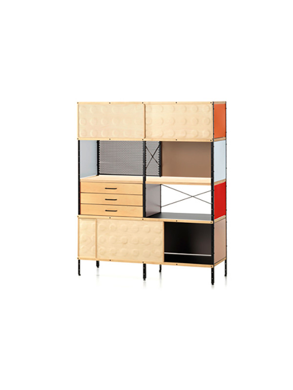 Eames Storage unit, ESU-Bogreol fra Vitra