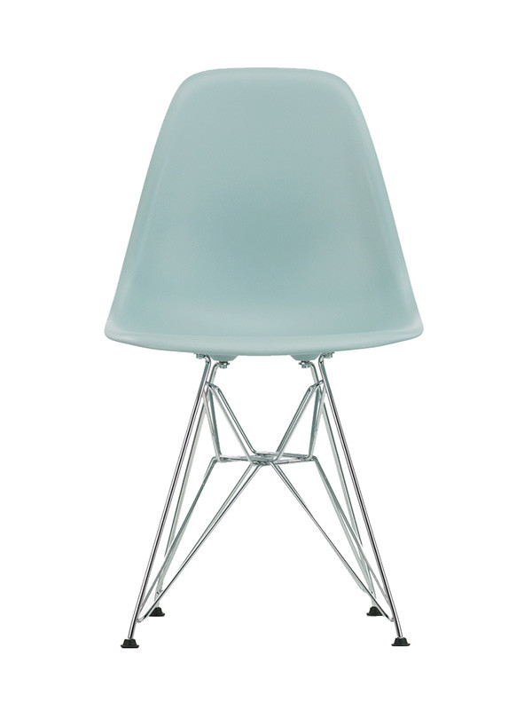 Eames Plastic Side Chair (DSR), forkromet