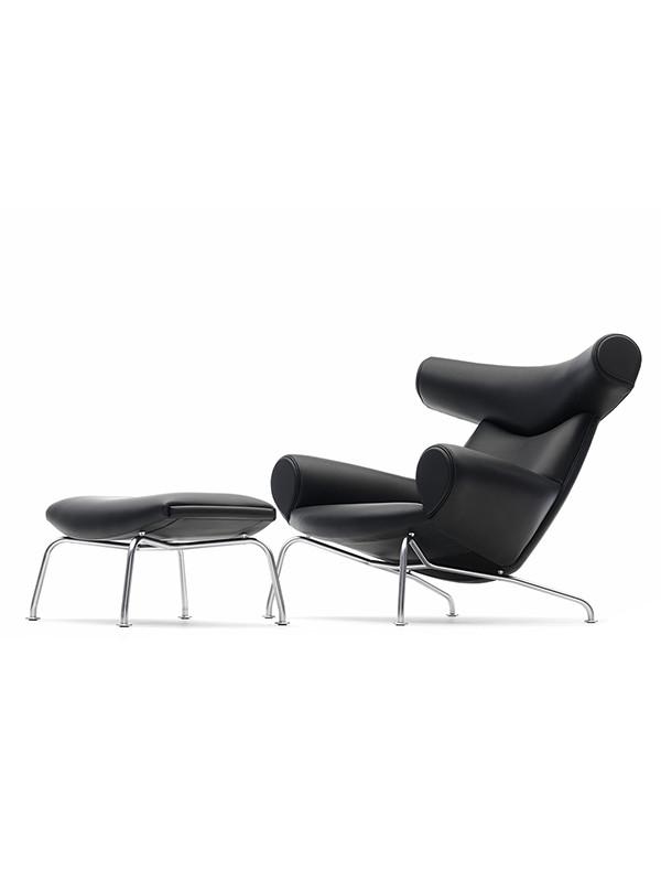 Ox Chair inkl. skammel af Hans J. Wegner