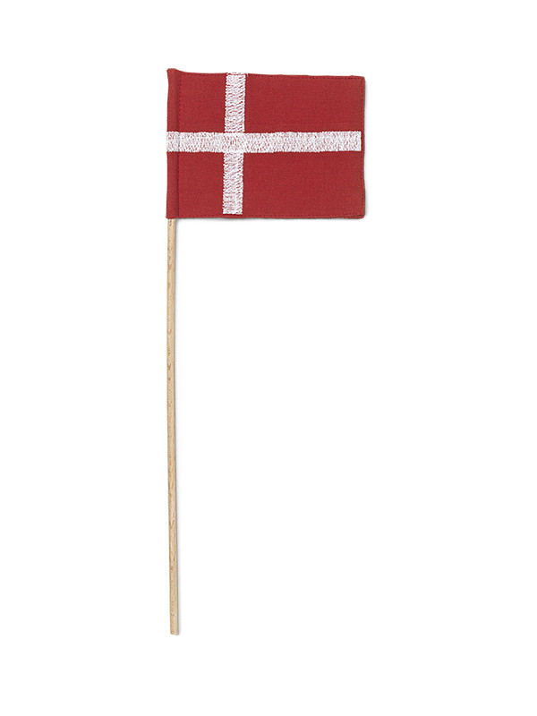 Tekstilflag til Fanebærer af Kay Bojesen