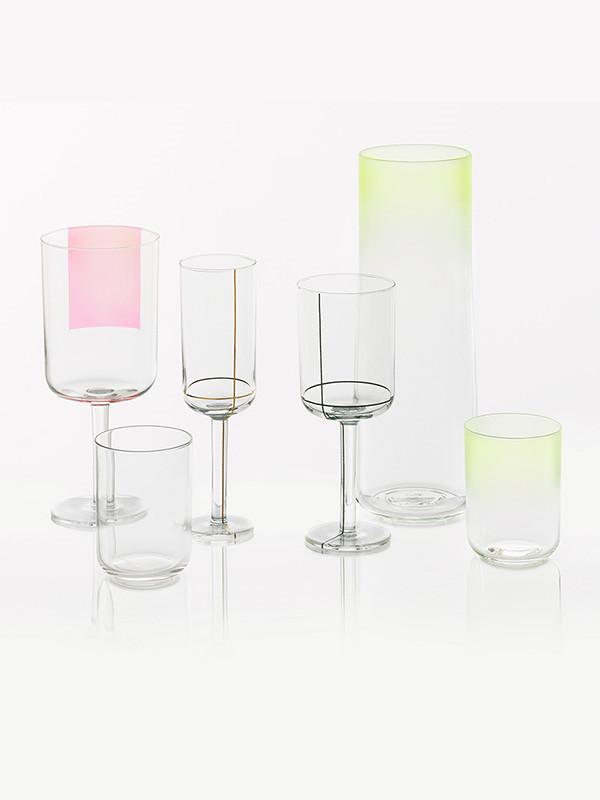 Colour glass fra Hay
