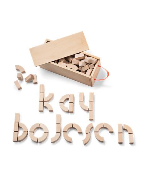 Alfabetklodser af Kay Bojesen