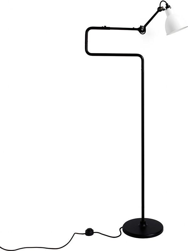 Nr. 411 gulvlampe fra Lampe Gras