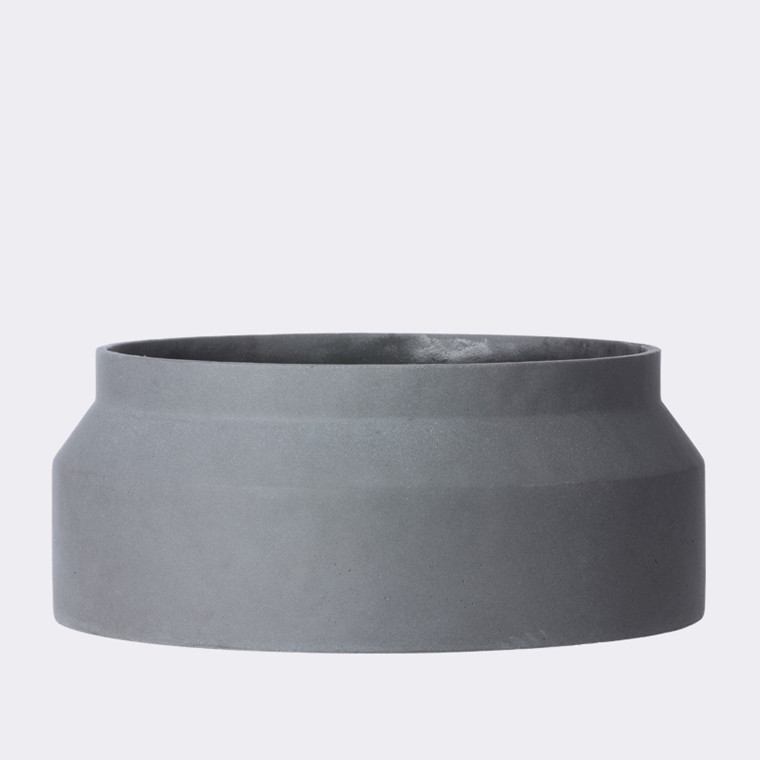 Pot  dark grey large fra Ferm Living