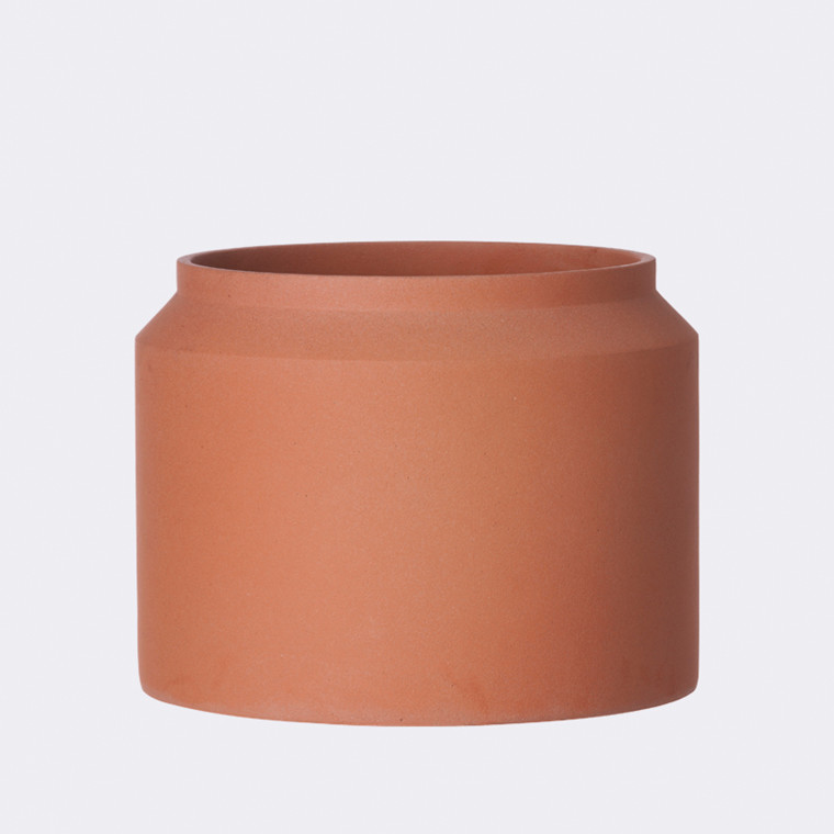 Pot  ochre large fra Ferm Living