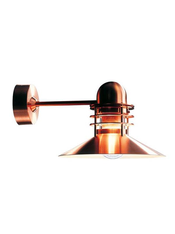 Nyhavn kobber væglampe fra Louis Poulsen