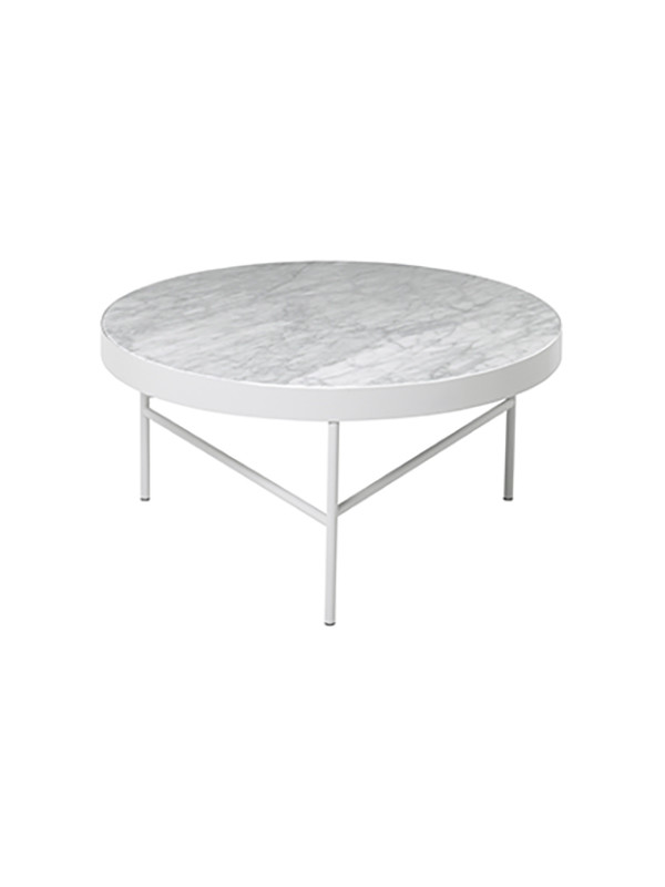 Marble table - large fra Ferm Living