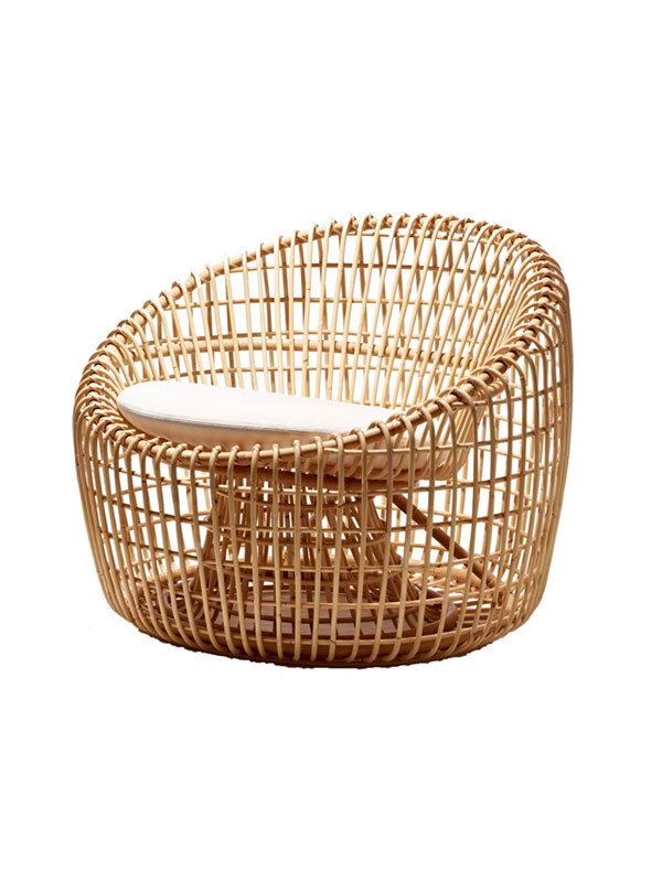 Nest lounge stol fra Cane-line