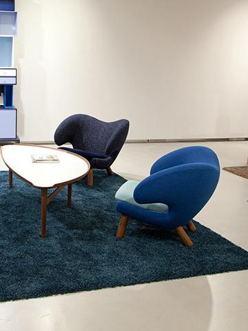 Tilbud på Pelikan stol af Finn Juhl